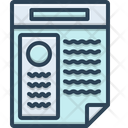 Resume Application Infographic Icon