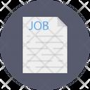 Resume Cv Recruitment Icon