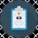 Resume Project Cv Icon