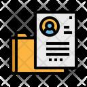 Portfolio Document Files Icon