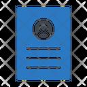 Resume Cv Job Icon