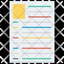 Resume Icon