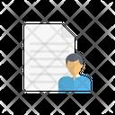 File Document Cv Icon