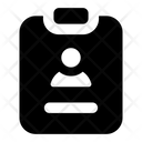 Cv Resume Biodata Icon