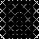 Resume Archievement Curriculum Vitae Icon