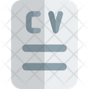 Resume Cv Employee Resume Icon