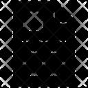 Resume Biodata Cv Icon