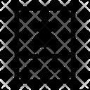 Resume Cv Biodata Icon