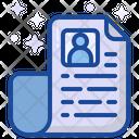 Resume Cv Profile Icon