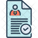 Determining Check Approved Icon