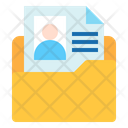 Resume Folder Folder File Icon