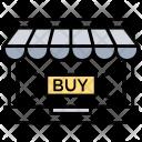 Retail Shop Online Icon