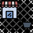 Retail Mart Shopping Icon