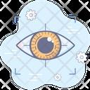 Retina Cyber Security Icon