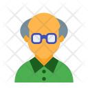 Retired Old Man Icon