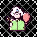 Retirement Party Icon