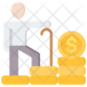 Retirement Pension Icon
