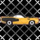 Retro Car Car Transport Icon