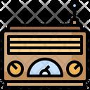 Retro Radio Vintage Radio Old Radio Icon