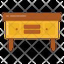 Retro Table Icon