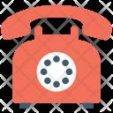 Retro Telephone Icon