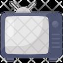 Retro Tv Tv Tv Set Icon