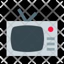 Retro Tv Television Icon