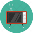 Retro Tv Old Icon