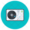 Turntable Music Player Audio Turntable Icon