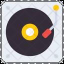 Retro Vinyl Music Disc Music Cd Icon