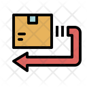 Return Delivery Back Icon