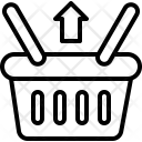 Return Item Basket Icon