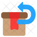 Return Package Box Icon