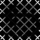 Return Arrow Left Icon