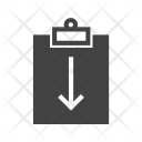 Assignment Return Clipboard Icon