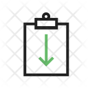 Return Assignment Icon