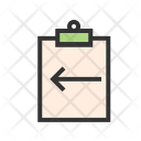 Assignment Return Icon