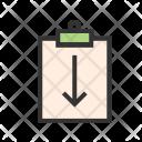 Return Assignment Icon