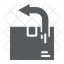 Return Shipping Delivery Icon
