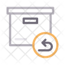 Parcel Delivery Box Icon