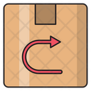 Return Delivery Box Icon