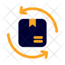 Refund Shipping And Delivery Package Icon
