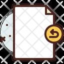 File Return Icon
