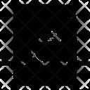 Forward Letter File Icon