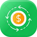 Return Of Investigation Money Dollar Exchange Icon