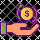 Mreturn On Investment Icon