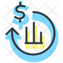 Return On Investment Statistics Service Icon