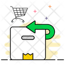 Parcel Return Cardboard Return Refused Parcel Icon