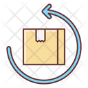 Easy Return Return Parcel Return Courier Icon