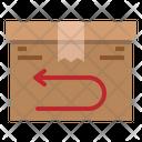 Return Box Delivery Icon